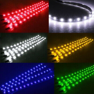 $8.59 • Buy Waterproof 12''/15 12V Motor LED Strip Underbody Light For Car Motorcycle