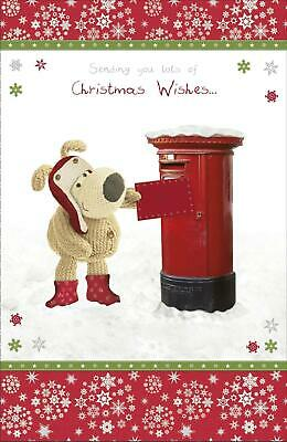 £3.40 • Buy Boofle - Sending You Lots Of Christmas Wishes... - Greeting Christmas Card New