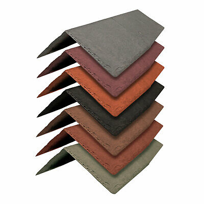 Tapco Synthetic Ridge & Hip Tile -Conservatory Porch Garage Shed Plastic Shingle • 36.42£