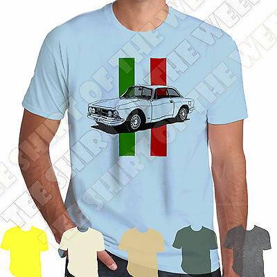 Alfa Romeo GTV 1750 Gt Veloce T-shirt Personalised Plate Opt +7 Colours Of Tee • 9.99£