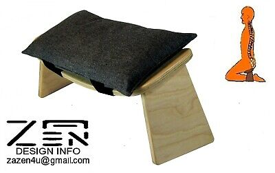 MEDITATION STOOL With A Fitted Cushion (Small – Medium)   • 39£