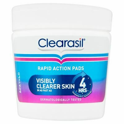 Clearasil Ultra Rapid Actions Pads Visibly Clearer Skin 65 Pads • 7.88£