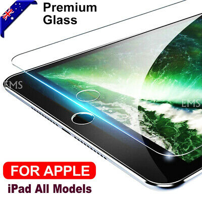 AU8.75 • Buy Tempered Glass Screen Protector For Apple IPad 2 3 4 5th Gen Air 1 2 Mini 2 3 4