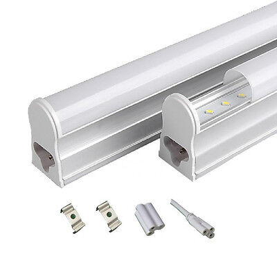 T5 Led Integrated Led Tube 300mm 600mm In Cool White Power Extension Link Cable • 39.95£