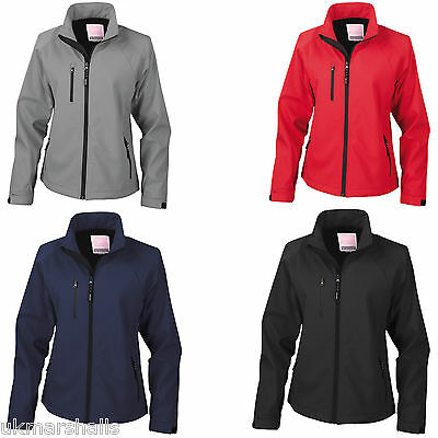 £23.02 • Buy Result Ladies Base Layer Soft Shell Lightweight Breathable Jacket Xs-xxl Rs128f