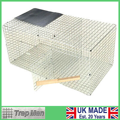 £85.99 • Buy CROW Cage Trap  SIDE ENTRY SINGLE  CATCH CROW TRAP Made By The TrapMan Free Del