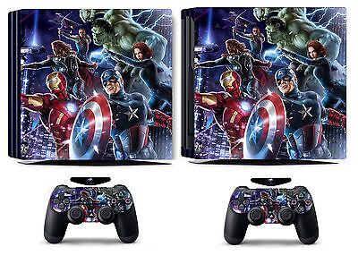 AU15.09 • Buy Avengers 260 Vinyl Skin Sticker Cover For Sony PS4 Pro PlayStation 4 Pro Decals