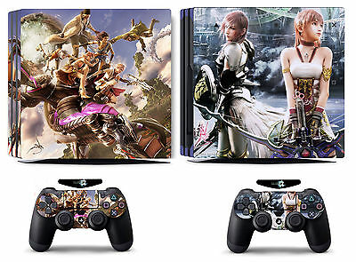 AU15.09 • Buy Final Fantasy 111 Vinyl Skin Sticker Cover For Sony PS4 Pro PlayStation 4 Pro