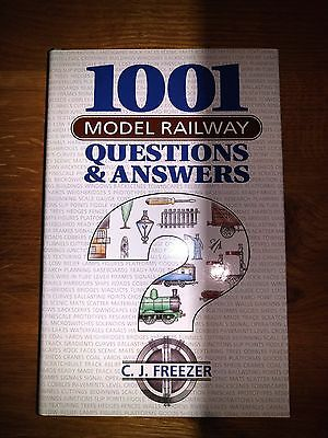 1001 Model Railway Questions & Answers By C.J. Freezer • 3.99£