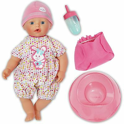 £18.95 • Buy My Little BABY Born 13  Doll Bathing Fun And Potty Romper Hat Nappy Bottle Boxed