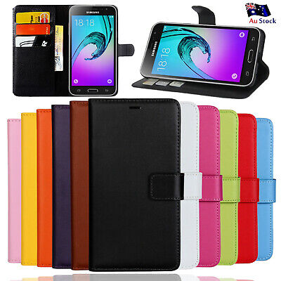 AU7.99 • Buy Wallet Leather Flip Case Cover For Samsung Galaxy J2 J5 J7 Pro J8 S8 Plus Case