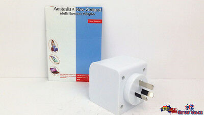 AU7.99 • Buy Travel Adapter Australia & New Zealand Multi Reverse Adapter 60428