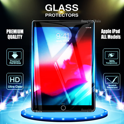 AU8.75 • Buy Tempered Glass Screen Protector Apple IPad 5th 6th Gen Pro 10.5  11  12.9  2018