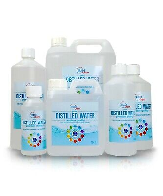 £24.49 • Buy Distilled Water Pure Water 250ml To 25 Litre Pure Chem (BLUE)