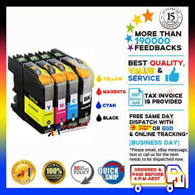 AU9.98 • Buy 4x NoN-OEM LC233 LC-233 BCMY Ink Cartridges For Brother MFC-J5320DW MFC-J5720DW