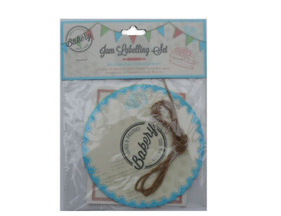 2 Packs Jam Labelling Set,Preserve Labels,Stickers,Ties,Chutney Covers & String  • 3.29£