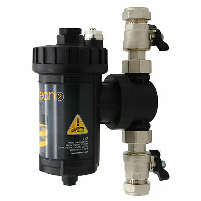 £62 • Buy IntaKlean 2 22mm Central Heating Magnetic Water Filter