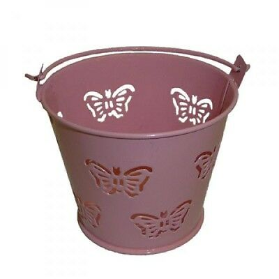 £5.99 • Buy Pack Of 10 Pink Butterfly Favour Pails Favour Buckets XMEFABU16