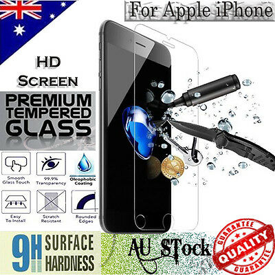 AU4.99 • Buy Tempered Glass / Plastic Screen Protector Film Guard For IPhone 6 Plus / 6S Plus