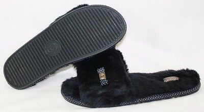 Womens Skechers Bobs Primpers Sleepin' In 34098 BLK Black House Slippers Shoes  • 20.25£