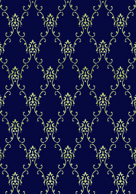 Lace STENCIL Victorian Allover Pattern Painting Wall Furniture Reusable TE187 • 8.49£