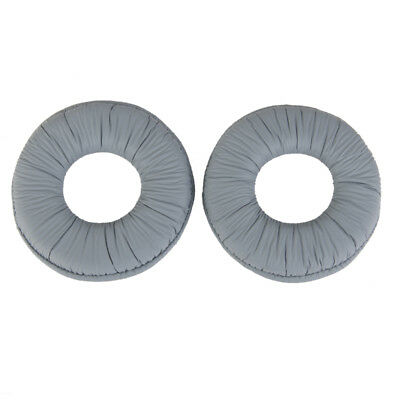 Pair Grey Replacement Headphone Cushion Ear Pads For SONY MDR ZX 100 300 • 3.20£