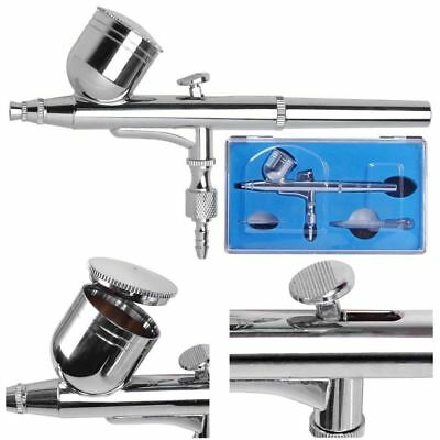 $26.90 • Buy Dual Action Airbrush Gun 0.3mm Nail Art Paint Spray Makeup Gravity Feed Hobby