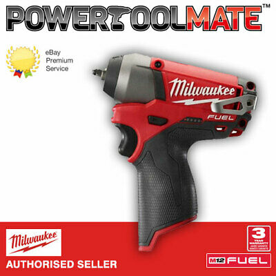 Milwaukee M12CIW14-0 12V Fuel Compact 1/4? Impact Wrench (Body Only) • 91.99£