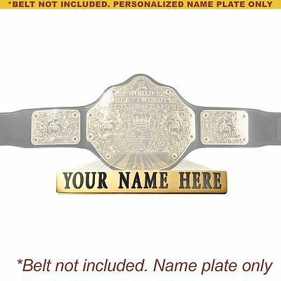 $31.98 • Buy Personalized Nameplate For Kids WWE World Heavyweight Championship Replica Belt