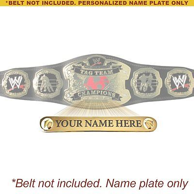$31.98 • Buy Personalized Nameplate For Kids WWE Raw Tag Team Championship Replica Belt