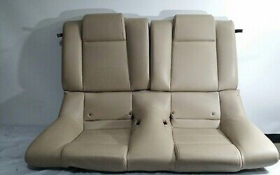 $269.99 • Buy 2005-2009 Ford Mustang Coupe Leather Rear Seat Cream Oem