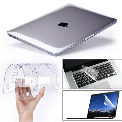 $10.99 • Buy Glossy Clear Hard Shell Case+Keyboard Cover For 2020 MacBook Air Pro 13  M1 15