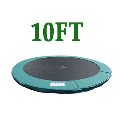 £42.99 • Buy 10FT Replacement Trampoline Safety Spring Cover Pad Surround Padding Green New