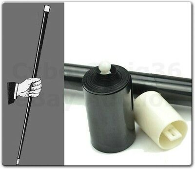 Vanishing Disappearing Black Cane Stage Trick Magic Prop Or Use As Fancy Dress • 9.99£