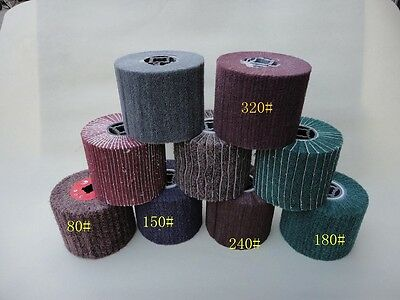 8 Pieces FLEECE (Nonwoven) Wheel Pad For Burnishing Tools Fit Fein Hardin Metabo • 104.19£