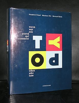 Friedl, Ott And Stein # TYPO When Who Now # Typography, 1998, Mint- • 60.05£