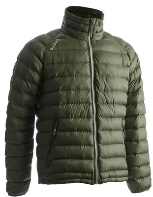 £44.99 • Buy Trakker Base XP Jacket Green Puffa Quilted Coat NEW *All Sizes*