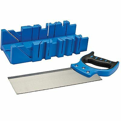 £9.99 • Buy Silverline  300mm X 90mm Mitre Cutting Block Box  Tenon Saw  For Wood