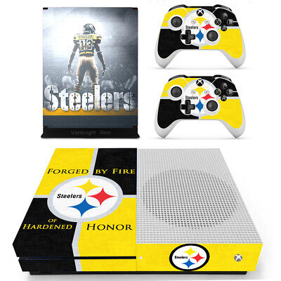 $10.80 • Buy Xbox One S Slim Console Skin Pittsburgh Steelers Vinyl Decals Sticker Controller