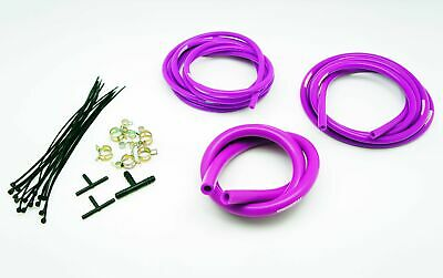 $29.90 • Buy AUTOBAHN88 Engine Silicone Air Vacuum Hose Dress Up Kit PURPLE Fit Mustang