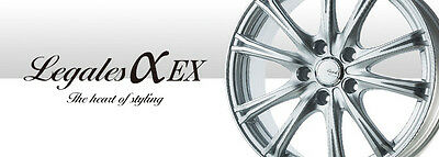 AU1300 • Buy Japanese 5Zigen 17x7 LEGALESαEX Wheel And Tyre Package For Subaru Or Toyota 86
