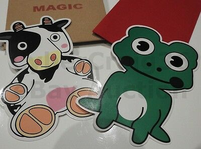 £5.95 • Buy Cow & Frog Magic Switch Change Kids Stage Bag Trick Prop Child Entertainer Clown