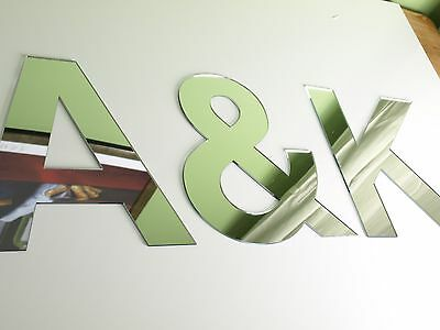 Acrylic Mirror Letters • 2£