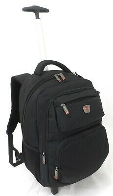 £34.99 • Buy Executive Wheel Laptop Backpack Business Office Travel Cabin Case Briefcase Bag