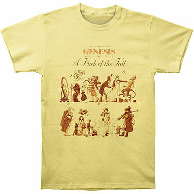 Genesis - A Trick Of The Tail 2 - Official Men's Yellow T-Shirt US IMPORT • 23.95£