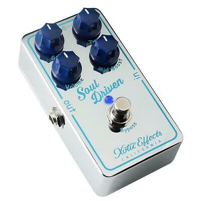 NEW! Xotic Effects Soul Driven Overdrive Pedal • 122.36£