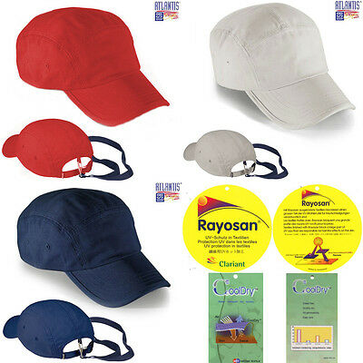 £9.95 • Buy Atlantis USA Caps SAIL Sports Cap 100% Cotton Canvas With Rayosan And Cooldry