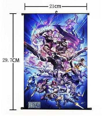 AU9 • Buy Hot Japan Anime Overwatch Whole Art Home Decor Poster Wall Scroll 8 X12  05
