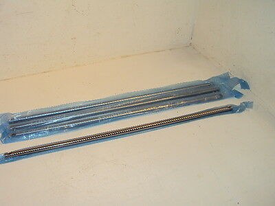 $64.95 • Buy (4) Thomson 60 Case Shaft Linear Bearing Rail 1/2-L-CTLX22.175 Pre Drilled