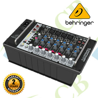 £293.14 • Buy Behringer Europower PMP500MP3, 8 Channel Powered Mixer W/ MP3 Player & Wireless